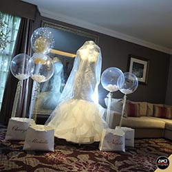 Wedding Dress on Mannequin by AMD Studios
